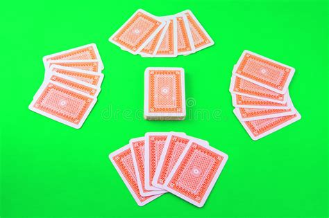 deck  playing cards stock photo image  package