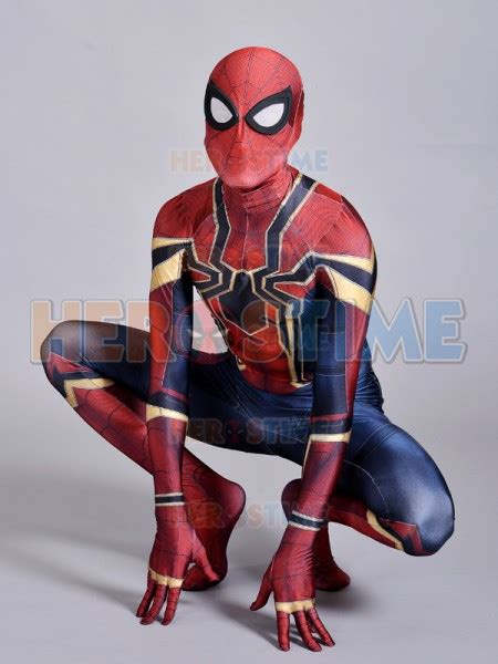 Iron Spider Suit Spiderman Homecoming Iron Spider Costume