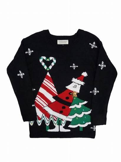 Sweater Santa International Christmas Tiara Walmart Womens