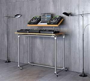 Den Ultimativen Dj Tisch Zum Selber Bauen Anleitung Pult Aus Ikea