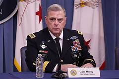 Ge. Milley says he should not have walked with Trump to church