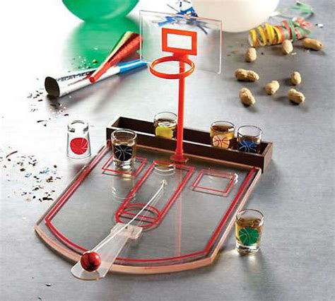 slam dunk drinking games shot glass basketball bar game