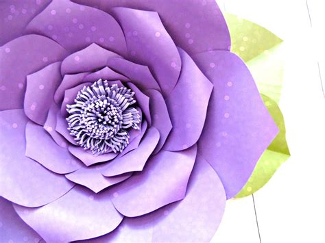 flower template    large paper flowers