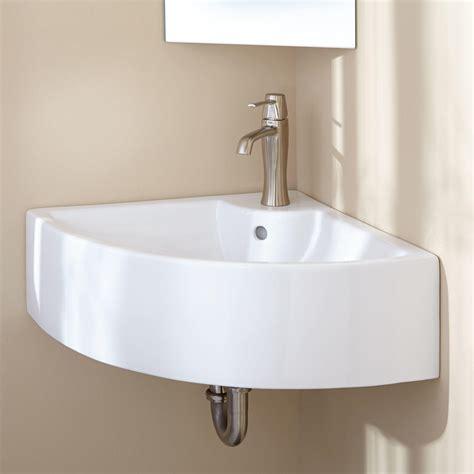 gordy corner wall mount sink ebay