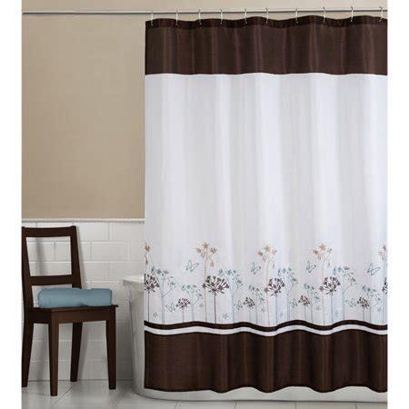 fabric shower curtains walmart maytex fabric shower curtain walmart