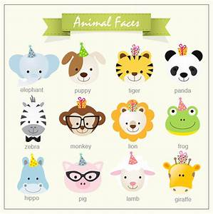 Baby Jungle Animals Water Bottle Labels - 12pcs - Baby