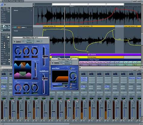 audio desk recording software emagic logic elec intro website