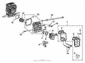 Homelite 45cc Chain Saw Ut-10942 Parts Diagram For Carburetor