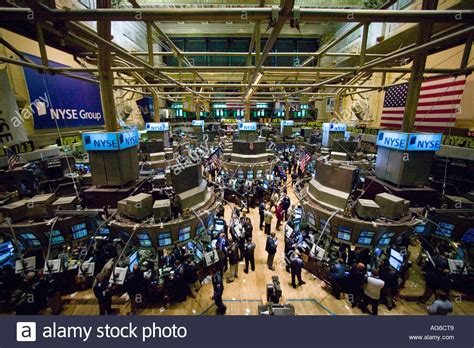 Wide Angle View Of The Main Trading Room At The Nyse In White Appliance Kitchen B And Q Appliances B&q Ceramic Floor Tiles Centre Nottingham Images Of Lighting Tile Flooring Ideas Pictures Island Chairs Pendant Lights For Islands