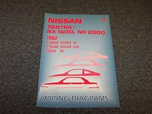 1992 Nissan Sentra Sedan Electrical Wiring Diagram Guide
