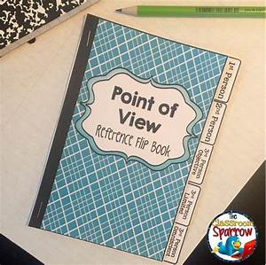 Point Of View  Interactive Notebook Flip Book  Quick