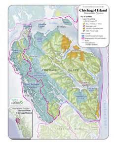 Brown Family Chichagof Island Alaska Map
