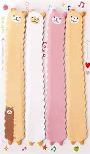 Llama Bookmark Stickers