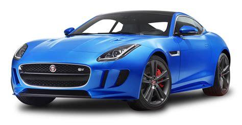 Blue Jaguar F Type Luxury Sports Car Png Image
