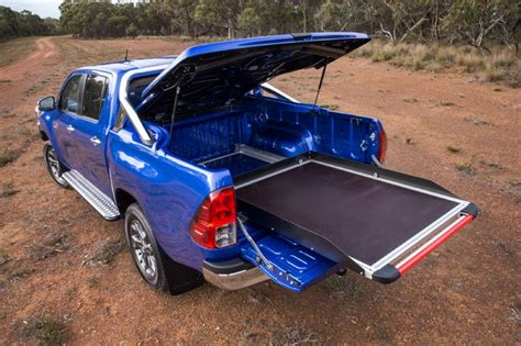 toyota hilux accessories revealed developed