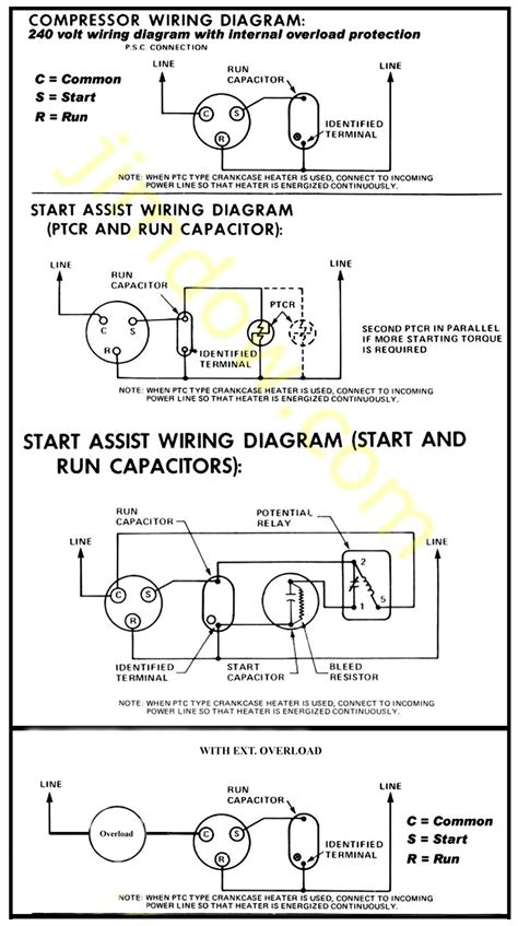air conditioner compressor wiring general spud cannon related