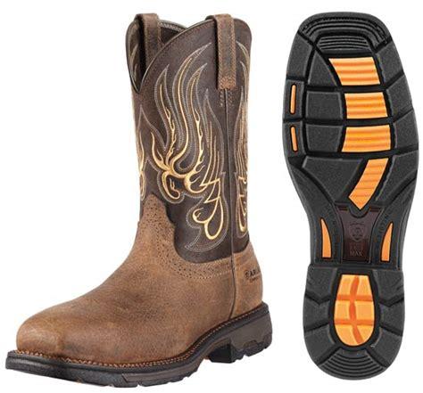 ariat mens workhog mesteno composite toe boot