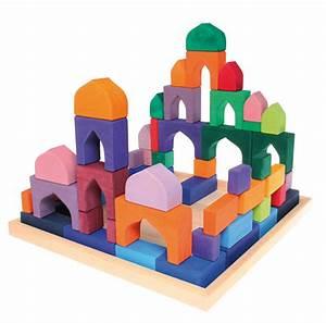 Montessori Spielzeug Baby : details zu grimms baukl tze 4 x 4 bauelemente baukasten waldorf montessori holzbaukl tze ~ Orissabook.com Haus und Dekorationen