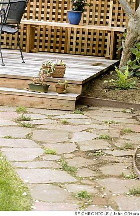 permeable hardscape permeable hardscapes let the water soak in sfgate