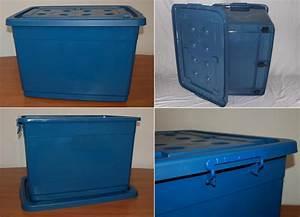 Coffre De Rangement Plastique : caisse de rangement bo tes roulettes coffre jouets ~ Melissatoandfro.com Idées de Décoration