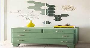 Diy Deco Murale : diy d co faire une d co murale avec des petits miroirs ~ Dode.kayakingforconservation.com Idées de Décoration