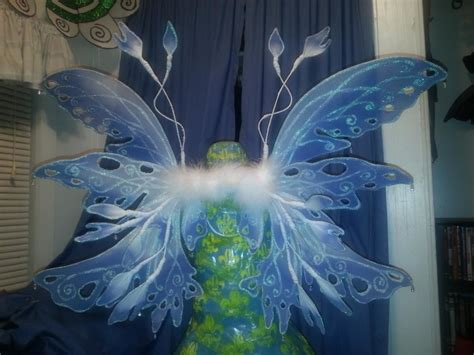 fairy wings  wing construction dyeing  wirework