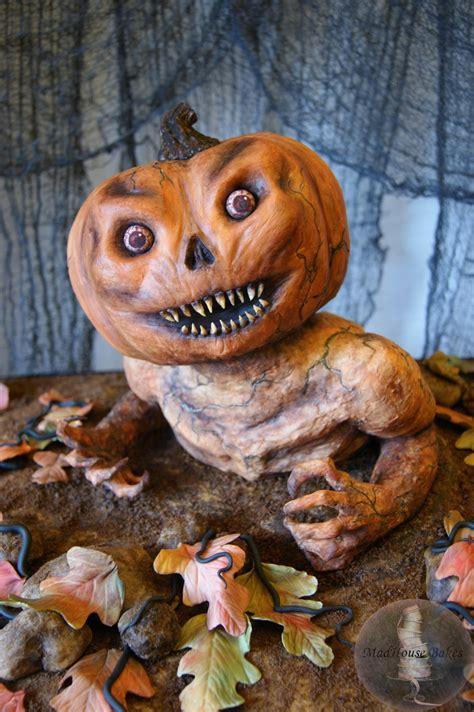 pumpkin monster birthday cake cakecentralcom