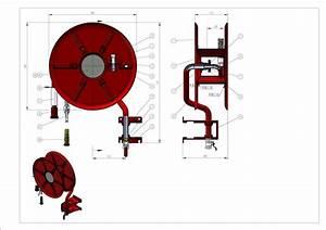 Fire Hose Reel En671 Manual Type And Fire Hose Reel
