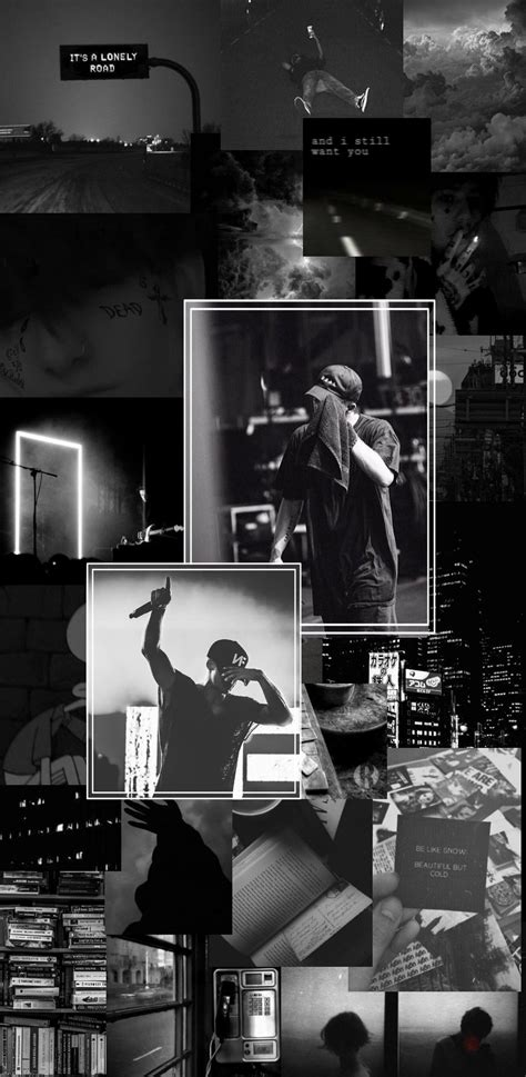 nf real aesthetic wallpaper black and white black