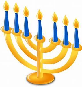 Hanukkah Candles Clip Art at Clker.com - vector clip art ...
