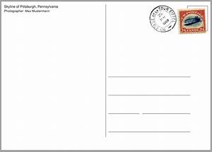 rules how can i make a postcard template tex latex With postcard size template word