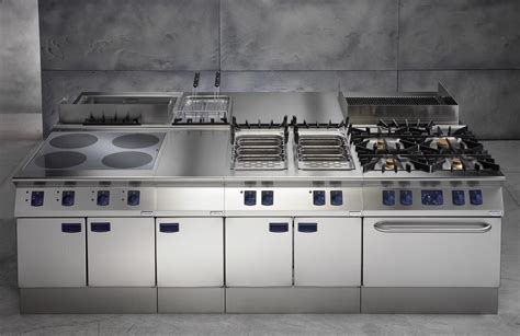 industrial kitchen islands roberto cavalli in dubai powered by electrolux