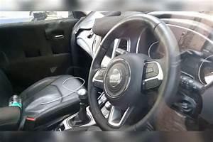 2017 Jeep Compass interior spy shot - Indian Autos blog