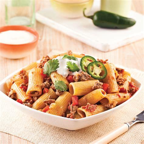 epices de cuisine one pot pasta de rigatonis épicés recettes cuisine et