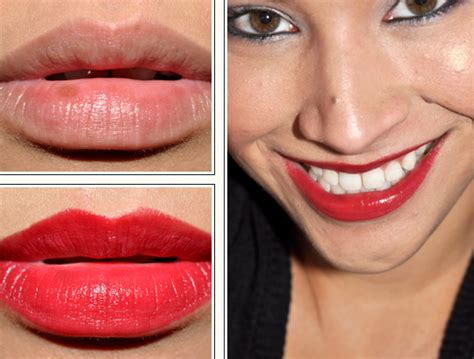 milani bing cherry lipstick review swatches