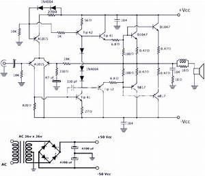 200w Power Amplifier   Schematic Diagram  U0026 Pcb Design