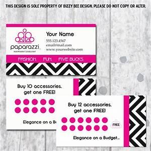 Paparazzi jewelry business card digital download for Order paparazzi business cards