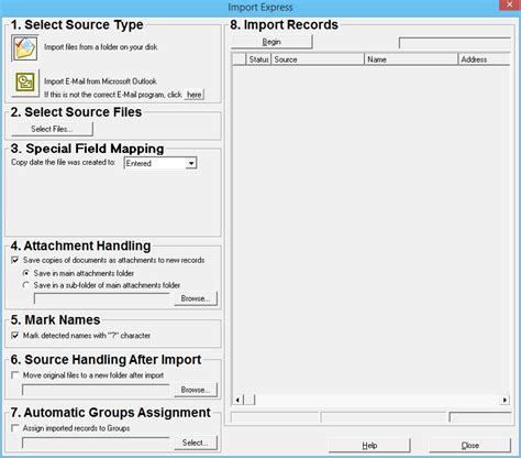 How To Make A Resumate by 3 Building Your File By Creating Database Records From