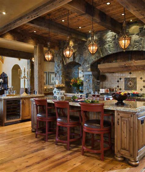 rustic country kitchen design iluminaci 243 n de cocinas 161 10 l 225 mparas modernas y brillantes 4969