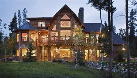 luxurious home plans rustic homes log house plans mountain lodge builders