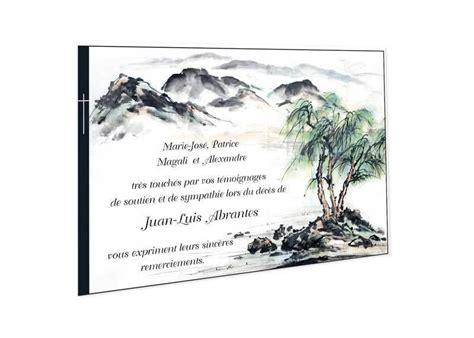 marquise cuisine carte remerciements décès condoléances aquarelle