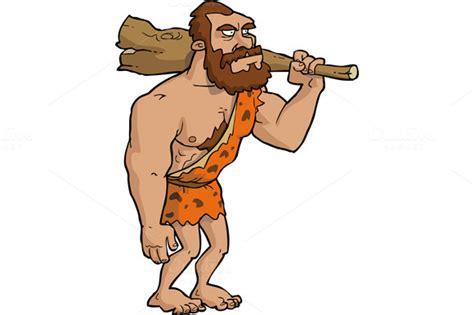 Neanderthal Man Cartoons And Comics