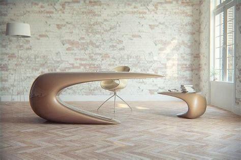 Futuristic Desk For A Scifi Inspired Office  Structure