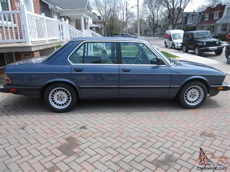 1986 Bmw 535i by 1986 Bmw 535i Base Sedan 4 Door 3 5l Mint Collector Car
