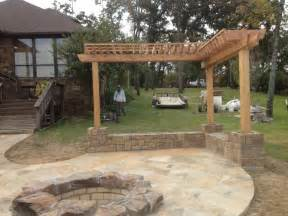 patio designs garden patio designs home design with wooden rooftop and center fireplace grezu home