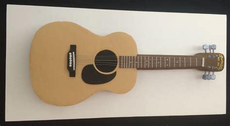 acoustic martin guitar cake cakecentralcom