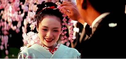 Geisha Skin Memoirs Porcelain Asian Beauty Hair