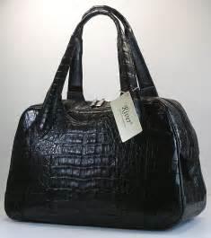 designer handbags black designer crocodile handbags