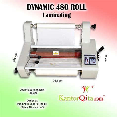 mesin laminating roll dynamic 360 roll dan sheet mesin laminating dynamic 480 roll kantorqita