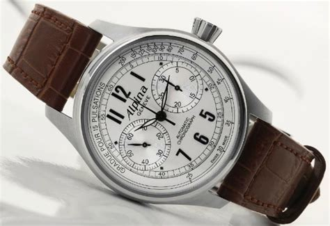 Alpina Startimer Classic Automatic Chrono Watch Has Very